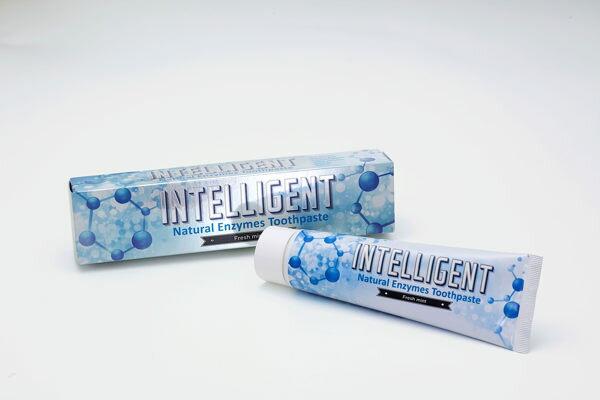 專品藥局 Intelligent 因特力淨 酵素牙膏 125g 可吞食不含發泡劑【2002151】