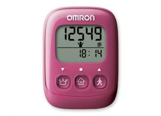 專品藥局 omron 歐姆龍 計步器 HJ-325 粉紅色 (實體店面公司貨) 【2002624】