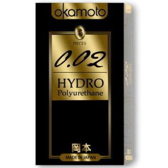 專品藥局 岡本0.02 HYDRO 水感勁薄 衛生套 保險套 6片/盒【2003837】(配送包裝隱密)
