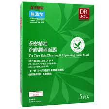 專品藥局 森田藥粧 DR.JOU 茶樹精油淨膚調理面膜 5片  盒 ~2005593~
