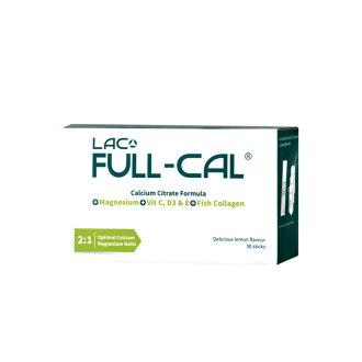 專品藥局【GNC健安喜】 LAC Full-Cal™優鎂鈣 30包(檸檬酸鈣+鎂) 【2009624】