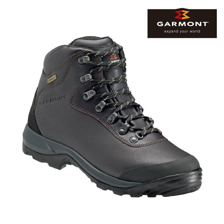GARMONT 男款 Gore-Tex大背包縱走登山鞋Syncro II Plus GTX 481037/211 咖啡色 / 城市綠洲 (登山健行鞋、GoreTex、防水、黃金大底)