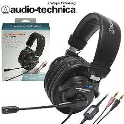 志達電子 ATH-770COM 贈收納袋 audio-technica 日本鐵三角 耳罩式DJ耳機麥克風 (台灣鐵三角公司貨)