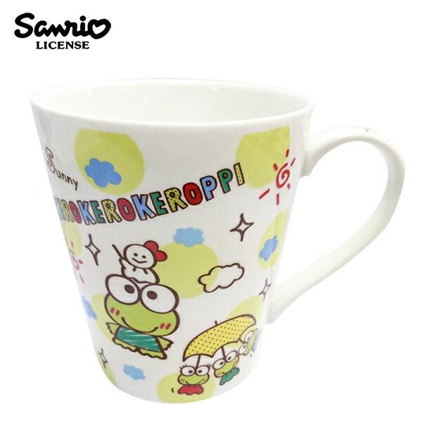 【日本正版】大眼蛙陶瓷馬克杯250ml咖啡杯三麗鷗Sanrio-076383