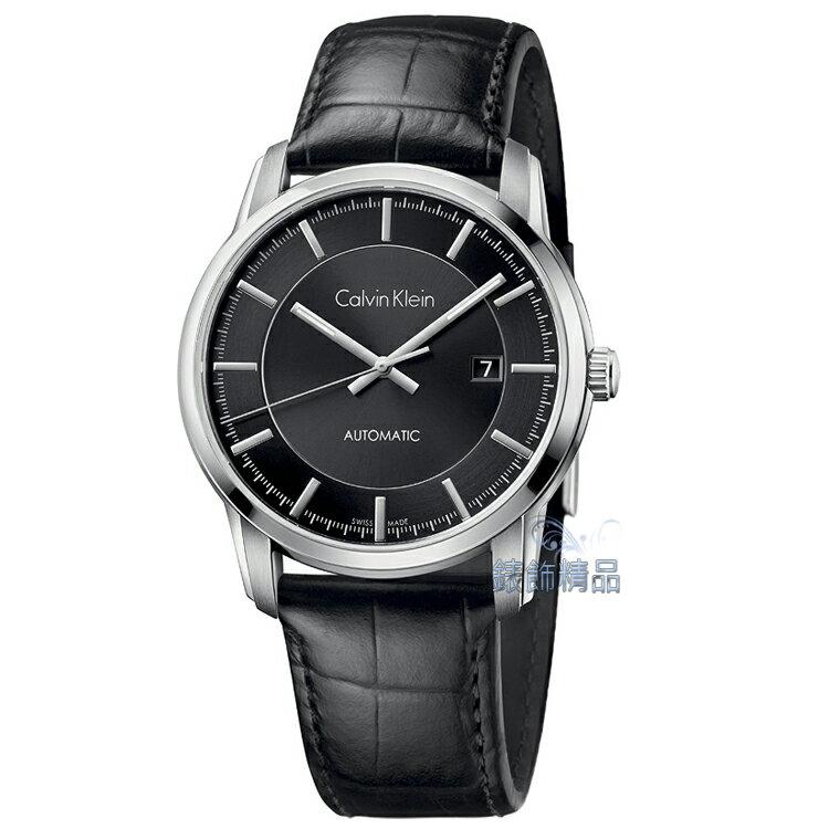 【錶飾精品】CK手錶 機械錶 藍寶石鏡面 日期 都會型男腕錶 K5S341C1 金宇彬代言廣告款 全新原廠正品 情人生日禮物