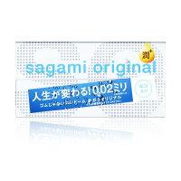 多元新體驗推薦到Sagami. 相模元祖 0.02 極潤 PU 衛生套 12 入【保險套世界精選】