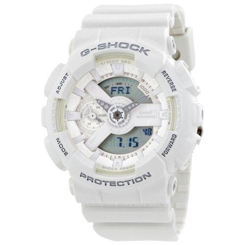 Casio G-Shock S White Analog-Digital Watch 0