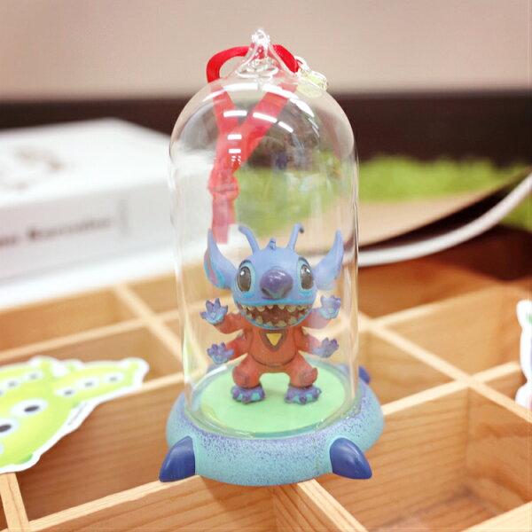 PGS7日本迪士尼系列商品-日貨迪士尼玻璃瓶史迪奇擺飾裝飾【SKD7763】