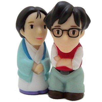 【真愛日本】12022000067 指套娃娃-草壁辰男爸爸  龍貓 TOTORO 豆豆龍 指套公仔 日本帶回