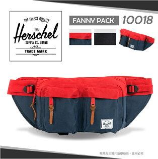 《熊熊先生》Herschel加拿大品牌EighteenHipBag潮流單肩包腰包10018休閒包旅遊包輕量側背斜肩背