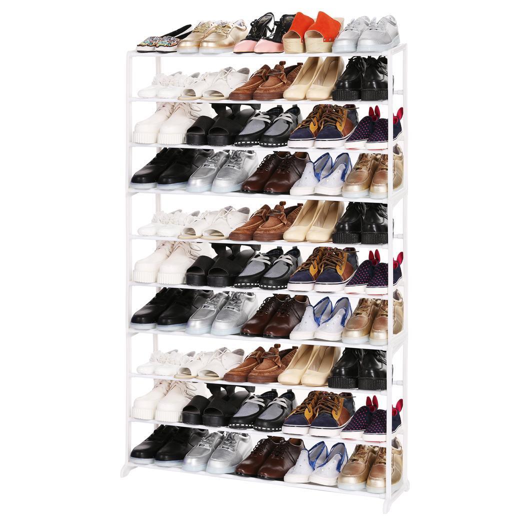 4/7/10 Tier Shoes Rack Stand Shelf 4