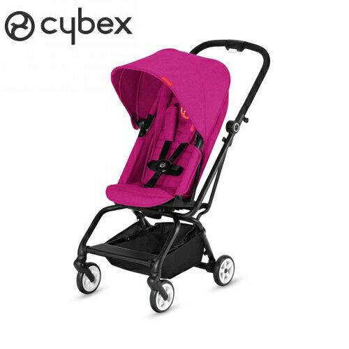 【2018全新上市】德國【Cybex】EezySTwist嬰兒手推車-粉色