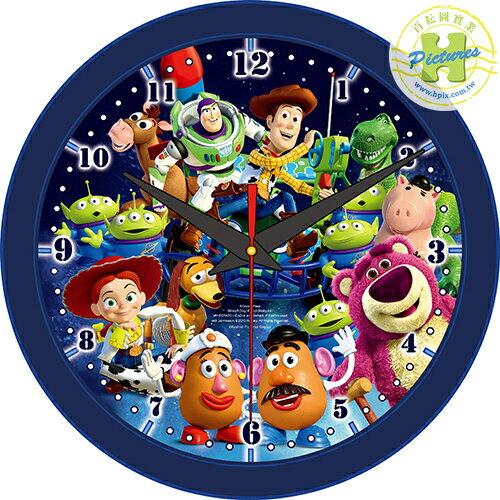 ToyStory玩具總動員時鐘拼圖168片-D004