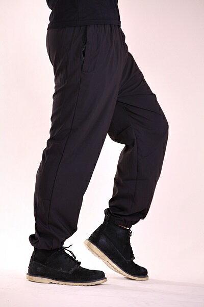 ★現貨供應★ 高機能 涼感 吸濕排汗 口袋拉鍊 伸縮腰圍 縮口褲 運動褲 長褲 加大尺碼 28~48腰1757 2
