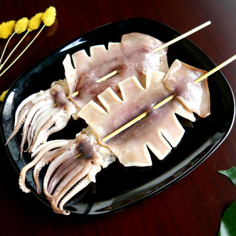 【鮮之流】 阿根廷魷魚串230g/串