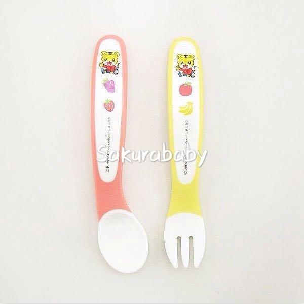 巧虎 學習餐具 寶寶餐具 學習湯匙 學習叉子 櫻花寶寶
