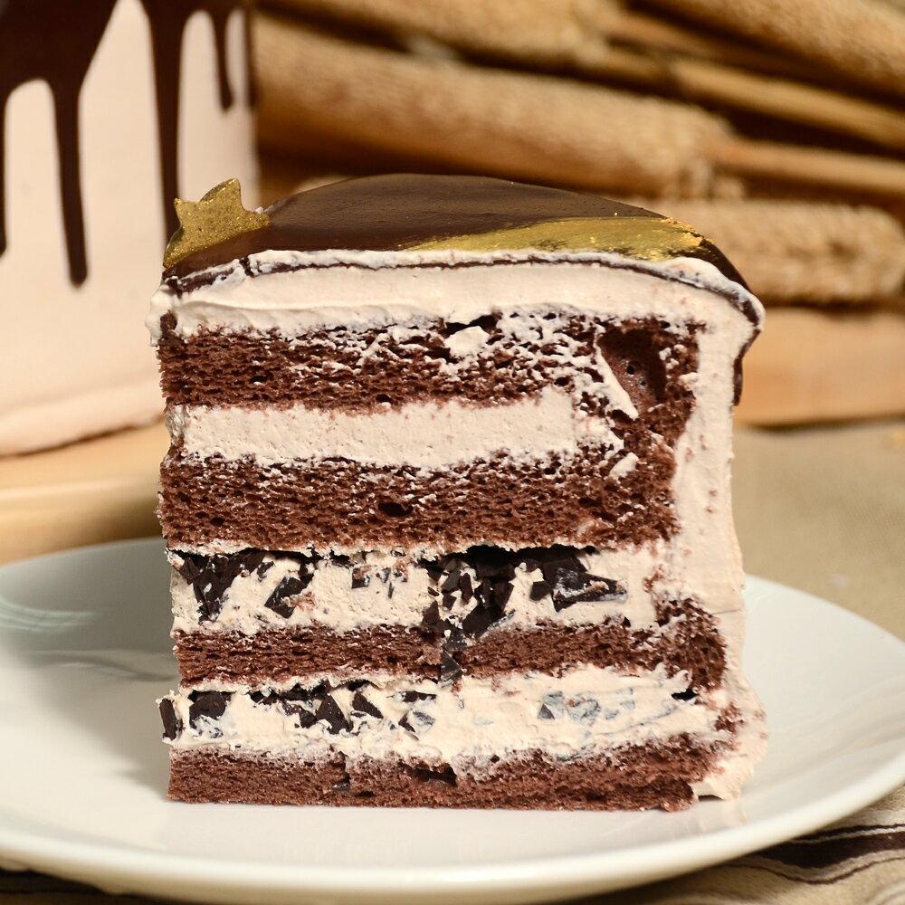 【艾波索】比利時極光巧克力6吋。比利時莊園級高純度的72%極純黑巧克力,濃厚的香氣融合著紮實的蛋糕體,甜而不膩的巧克力與讓人驚艷的細膩口感 1
