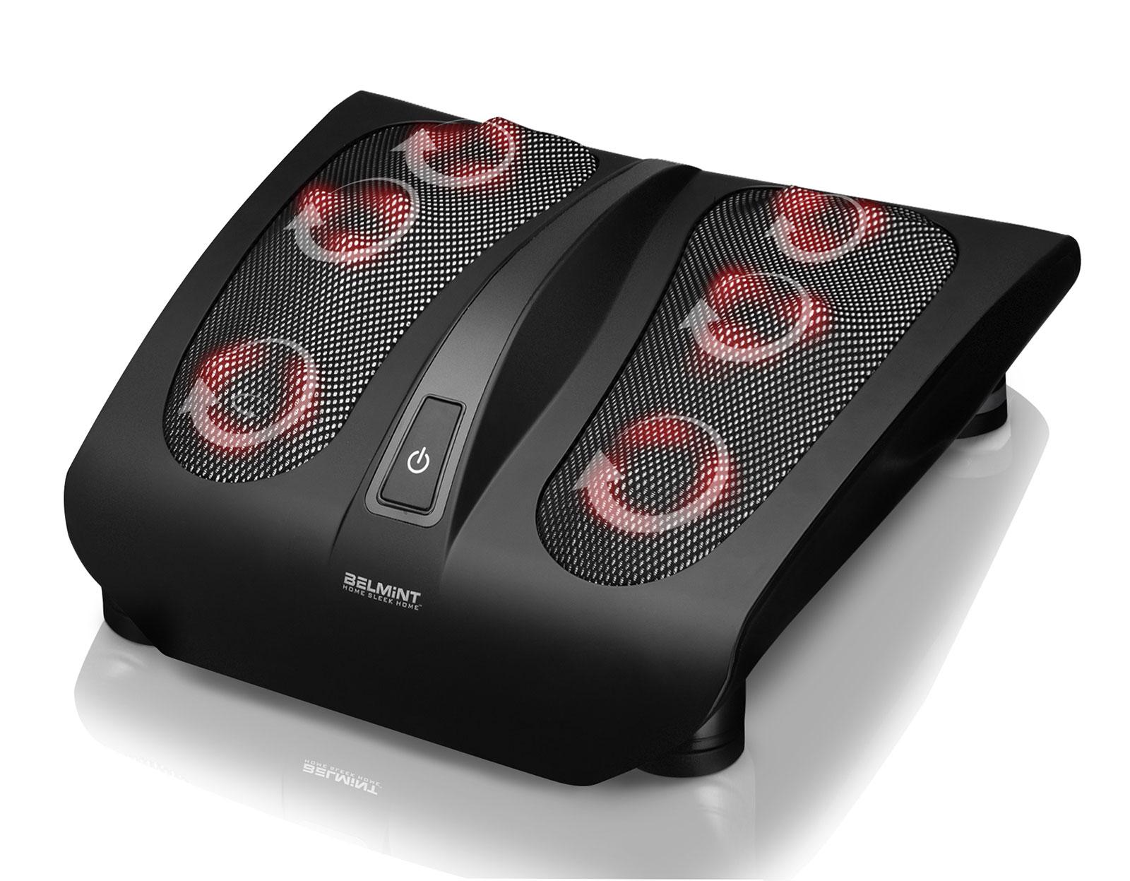 Belmint Shiatsu Foot Massager w/ Built-In Heat Function - Deep Kneading Therapy 0