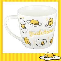 蛋黃哥週邊商品推薦蛋黃哥 懶懶蛋 陶瓷 浮雕 馬克杯 水杯 咖啡杯 茶杯 約270ML 日本進口正版 013723