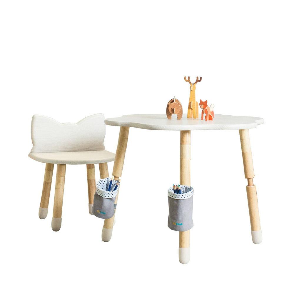 兒童書桌  學習桌  遊戲桌    MyTolek 童樂可 樂遊桌~棉花糖+喵喵椅 0