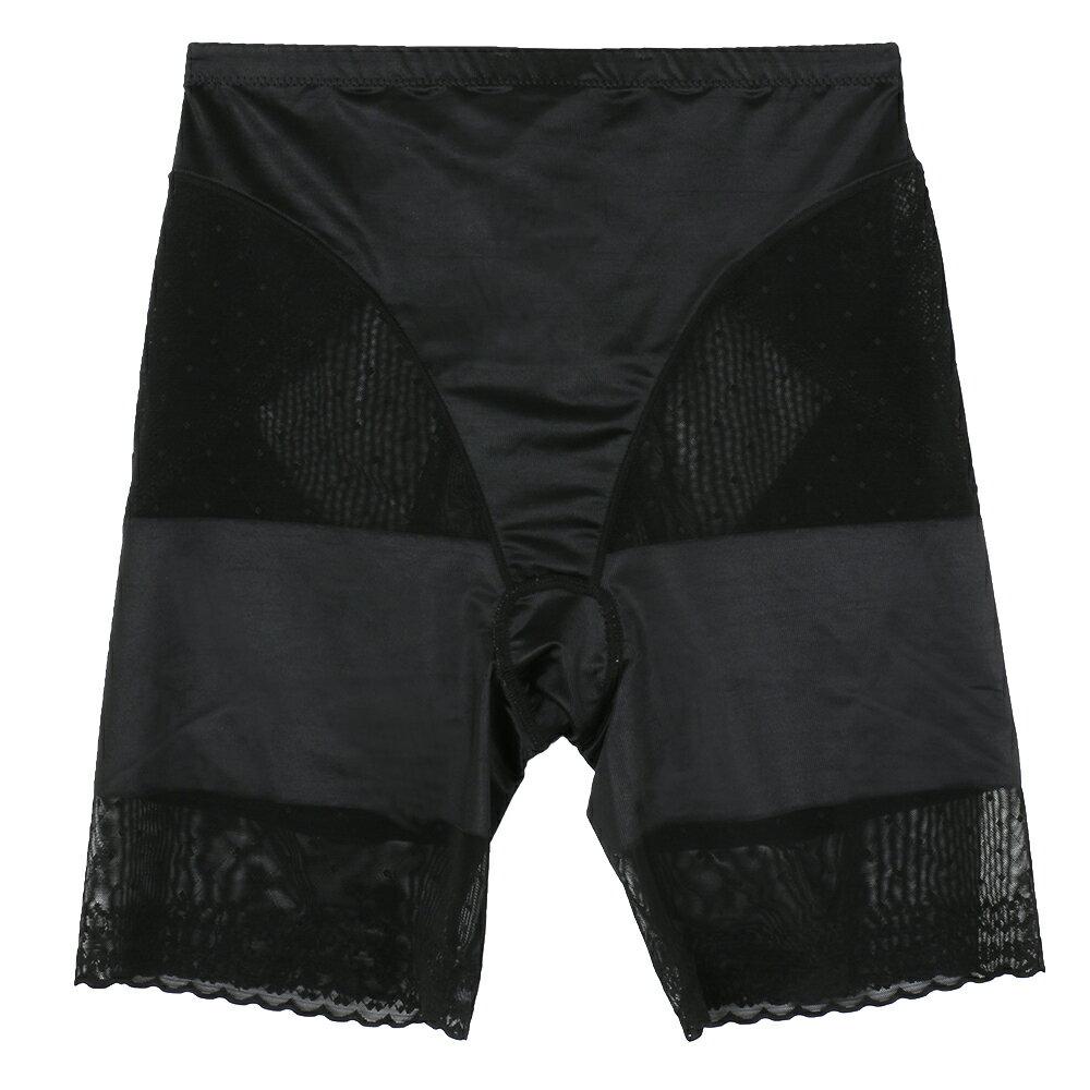 全館免運【夢蒂兒】280丹 俏女爵無痕機能束褲(黑) 1