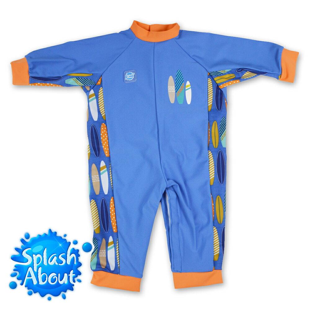 《Splash About 潑寶》UV All in One 嬰兒抗 UV 連身泳衣 - 衝浪小子