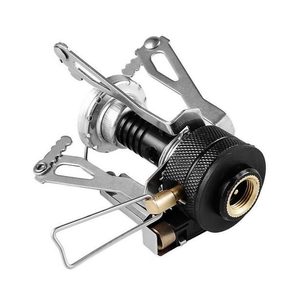 Ultralight Portable Gas Butane Propane Canister Outdoor Camping Stove Burner 2