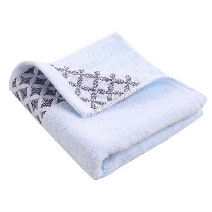 6PCS Cotton Bath Towel Face Shower Towels Set Striped 5