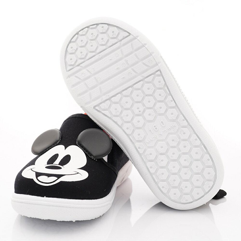 迪士尼童鞋 米奇休閒鞋款 119833黑 (中小童段) 6