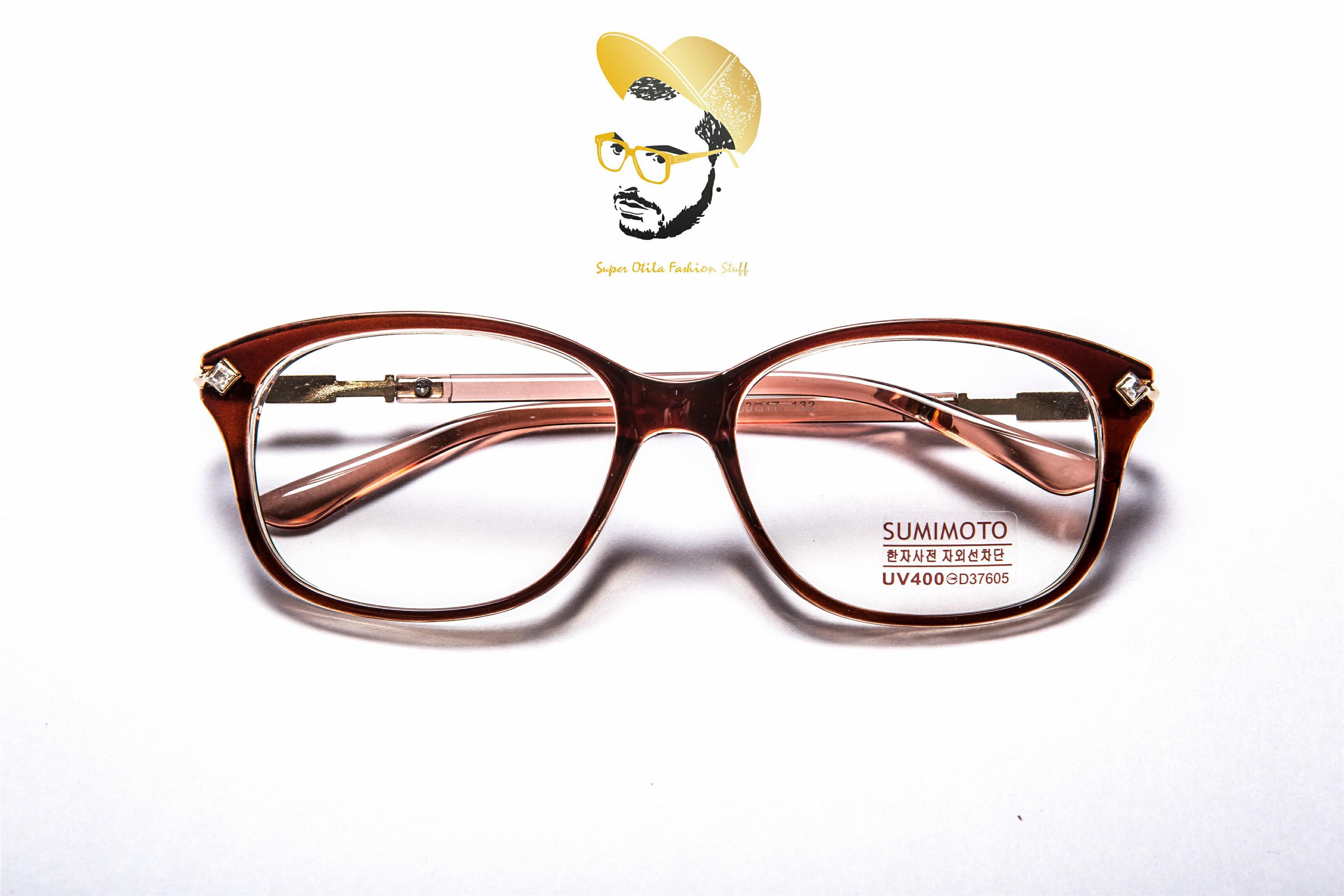 glasses for lovers 太陽眼鏡 墨鏡 眼鏡 韓國 ~9363~小方鑽~咖啡
