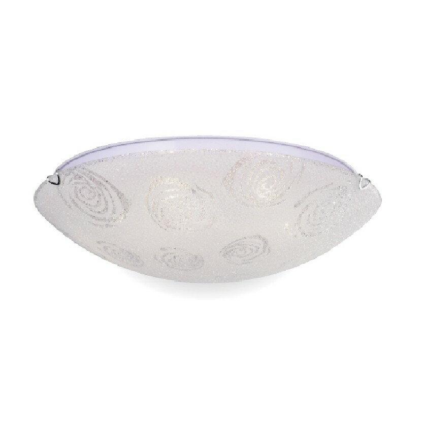 【NATIONAL】五燈波波50CM吸頂燈鑽石玻璃E27X5+1 《適用於4-6坪》
