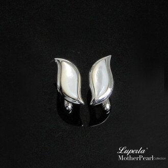 大東山珠寶 法式品味男士系列 都會紳士純銀袖扣 葉形