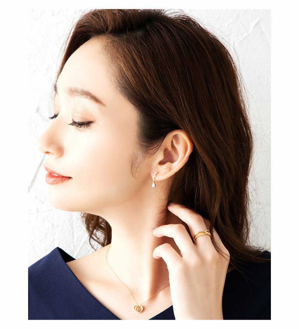 日本Cream Dot  /  浪漫鋯石穿孔耳環  /  p00001  /  日本必買 日本樂天代購  /  件件含運 6