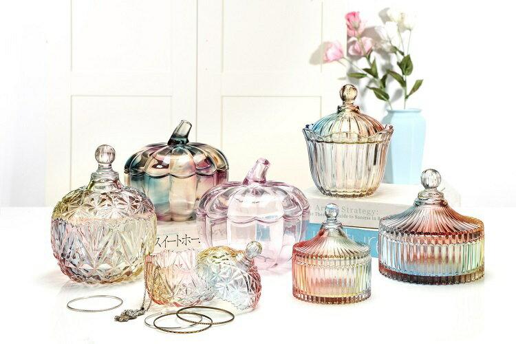 皇冠水晶玻璃罐(小-10.5X13cm) [大買家] 9
