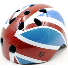 【淘氣寶寶】London Taxi KickBike 幼兒安全帽-英國國旗【採用堅硬的外殼保護寶貝頭部】