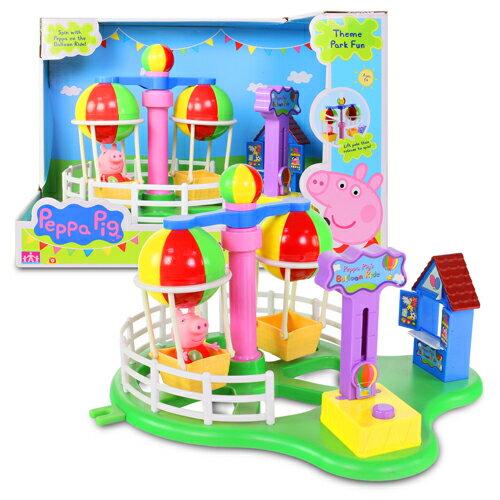 粉紅豬小妹歡樂樂園系列-熱汽球遊戲組/ Peppa Pig Theme Park Deluxe Balloon Ride Pack/ 伯寶行