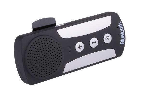 Bluetooth 3.0 Hands-free Dual Link Visor Mount Car Multipoint Speakerphone Kit 3