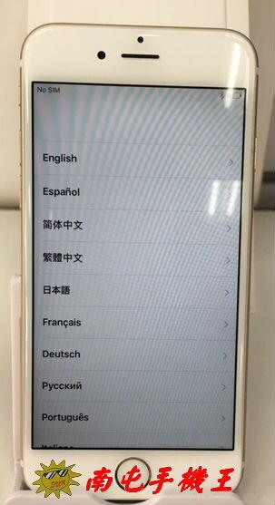 ↑南屯手機王↓ Apple iPhone 6 16GB中古機(金色)~宅配~免運費