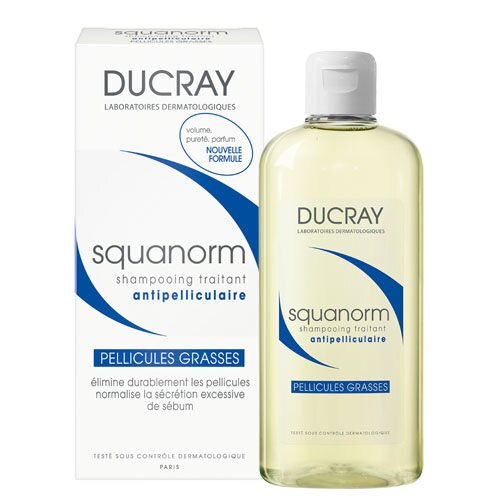 DUCRAY護蕾 k油清屑洗髮精200ml