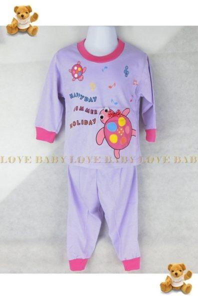 ☆╮寶貝丹童裝╭☆ 可愛 動物 造型 透氣 舒適 男女寶寶 上衣+小褲 長袖 套裝 新款 ☆