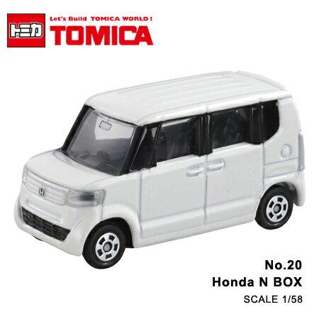 日貨 TOMICA No.20 Honda N BOX 本田 真車系列 汽車模型 多美小汽