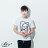 ☆BOY-2☆【ND5462】短袖T恤休閒簡約拼接色塊猩猩猴子OPPA壓框印花短T 3