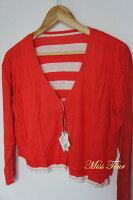 針織外套推薦到日本代購 全新 真品 正品 日本 SLY 雙面穿 條紋 薄外套 原價6千多日幣就在SUNYI推薦針織外套
