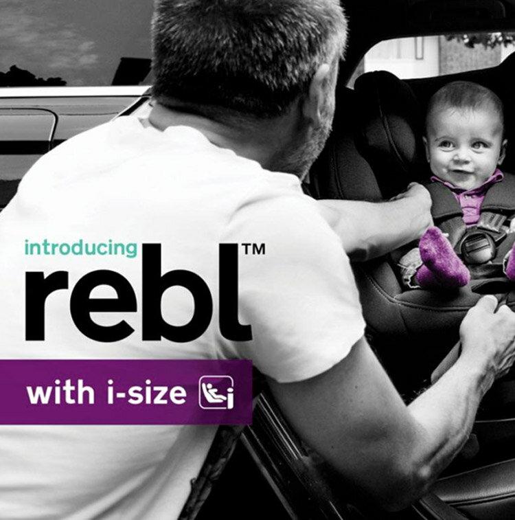 NUNA - Rebl 0-4歲ISOFIX兒童安全座椅 -黑 贈品牌手提袋+可愛玩偶吊飾,加贈費雪可愛動物小鋼琴健身器! 1