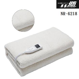 <br/><br/>  NORTHERN北方 NR6218 安全單控仿羊毛電熱毯(雙人) 公司貨<br/><br/>
