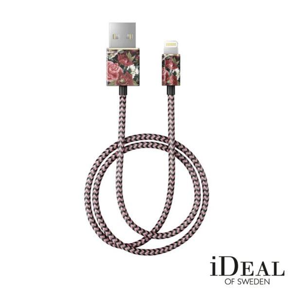 【愛瘋潮】99免運iDealOfSweden瑞典北歐時尚編織Lightning充電線傳輸線數據線預購