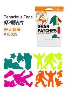 ├登山樂┤美國McNETTTenaciousTape修補貼片(彩色)快樂的露營者#10809