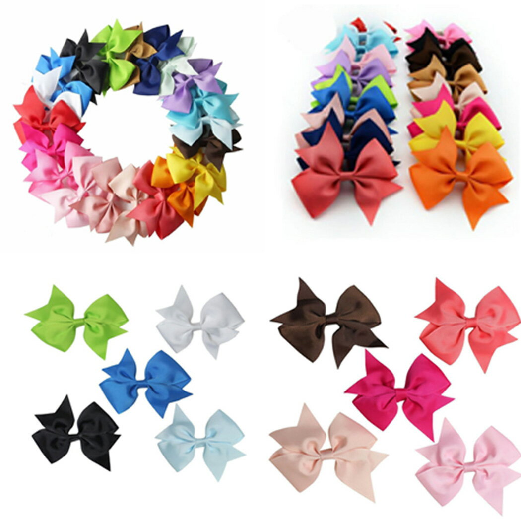 20 Colors New Alligator Clips Girls Hair Clip 1