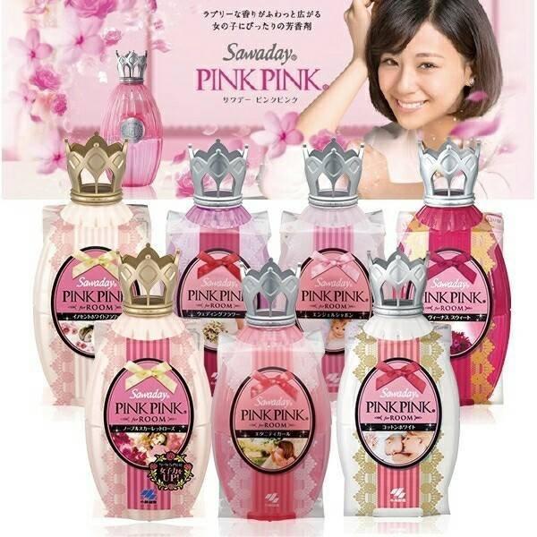 日本 Sawaday PINK PINK 婚禮花香水 空間芳香劑 擴香劑 居家 日本製造進口 * JustGirl *