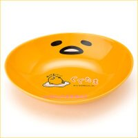 asdfkitty可愛家☆蛋黃哥長橢圓陶瓷盤/咖哩盤-裝點心.咖哩.燴飯都好用-日本製